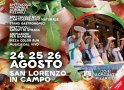"A San Lorenzo in Campo torna ""Pizza in Piazza"""