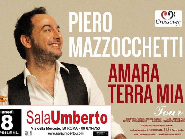 A Roma la serata evento del tenore Mazzocchetti, per i 20 anni di carriera