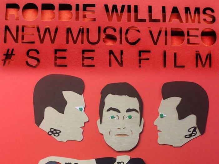 """Il nuovo video di Robbie Williams """"The Impossibile"""" girato in Italia"""