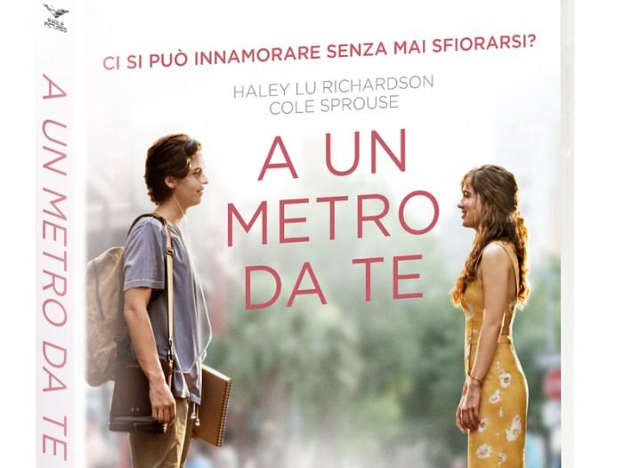 """Il film campione d'incassi """"A un metro da te"""" arriva in DVD e Blu-ray in un'edizione ricca di contenuti extra"""