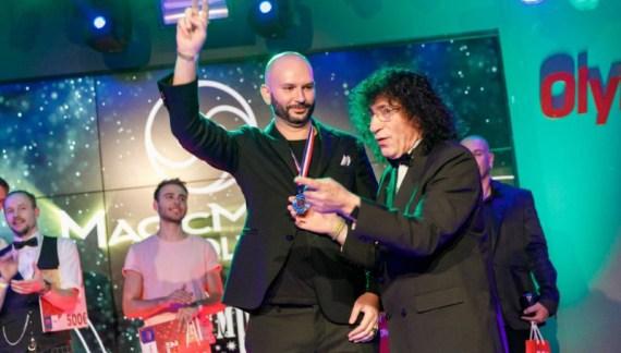 Raffaele Scircoli premiato come mentalista più originale e creativo dell'anno