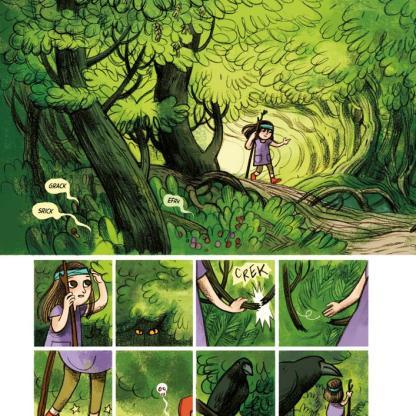 Anna e la famosa avventura nel bosco stregato-12