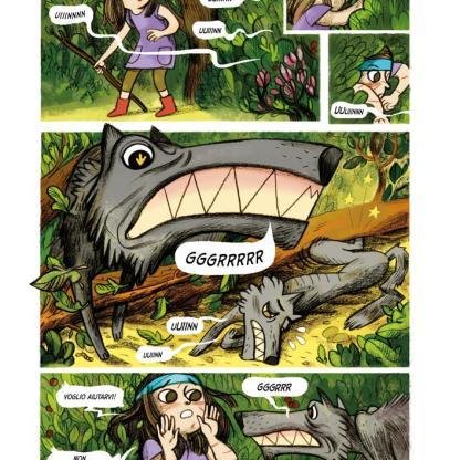 Anna e la famosa avventura nel bosco stregato-14