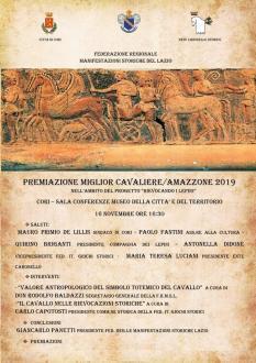 Premiazione del Miglior Cavaliere/Amazzone 2019-1