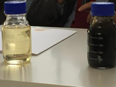 Olio rigenerato vs olio usato - Foto Adn Romano
