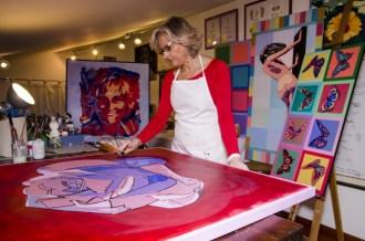 Il ritratto a colori di Nicoletta Belli