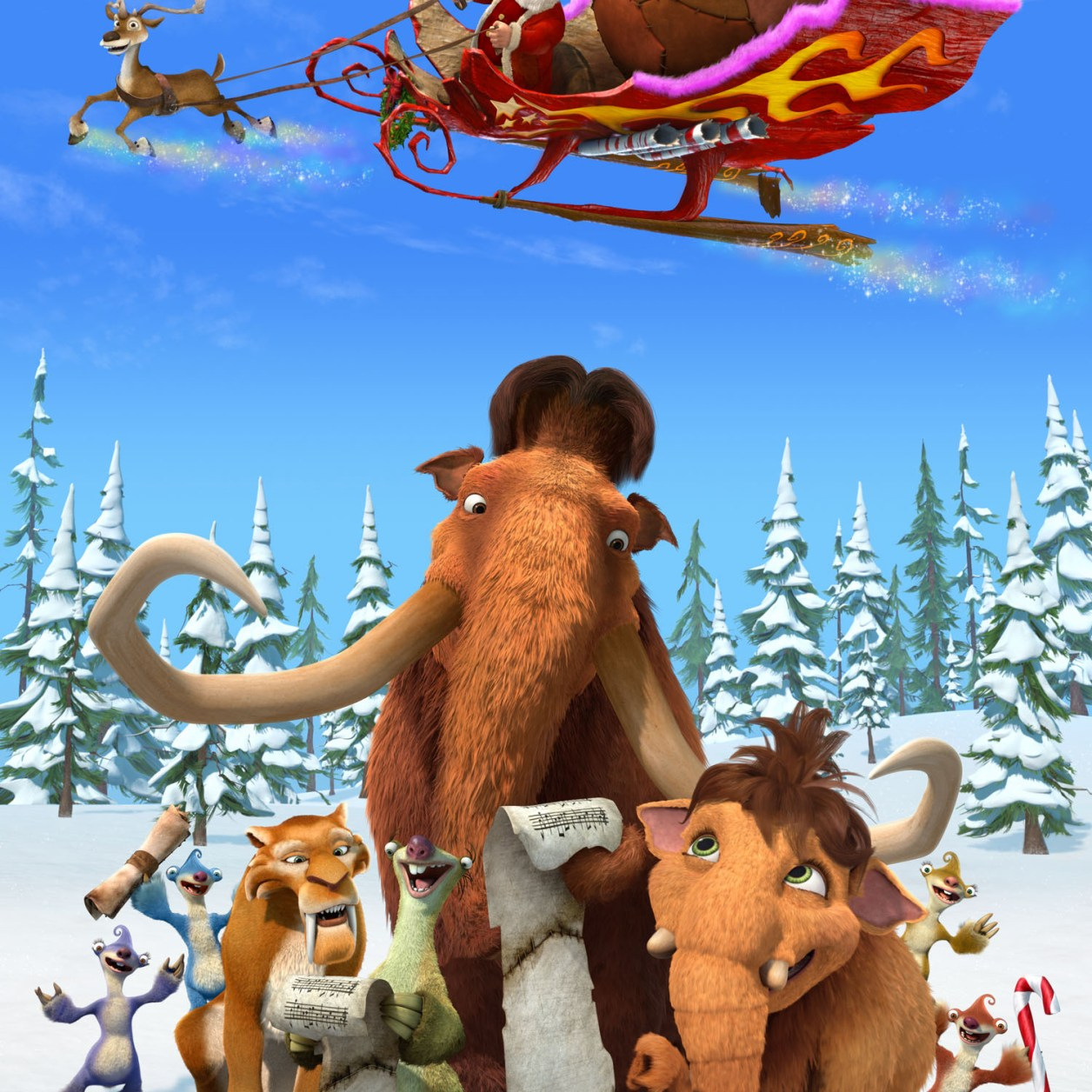 Ice Age Mammoth Christmas MKT posterFinal