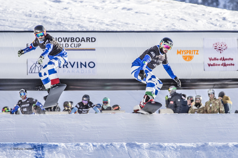 Snowboard Cross World Cup-in