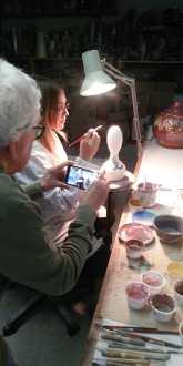 Laboratorio Lega Faenza backstage Buongiorno Ceramica! 2020