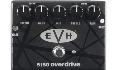 MXR and EVH Announce New 5150 Overdrive Pedal