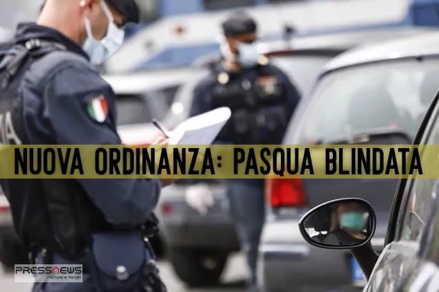 Coronavirus, Campania: De Luca blinda la Pasqua. Appena firmata la nuova ordinanza