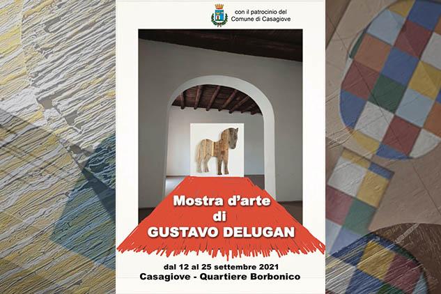 """Mostra d'arte """"LE MADRI"""" di Gustavo Delugan al quartiere borbonico di Casagiove dal 12 al 25 settembre 2021."""