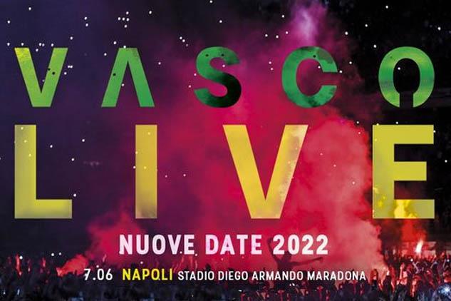 VASCO LIVE 2022. Aggiunte 5 nuove date: Napoli è in lista. Ecco il calendario