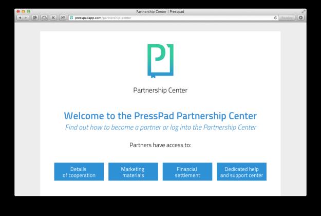 presspad-parthership-center