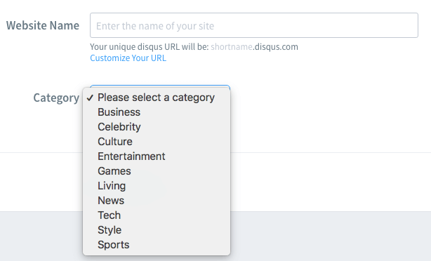 How to add Disqus to the website