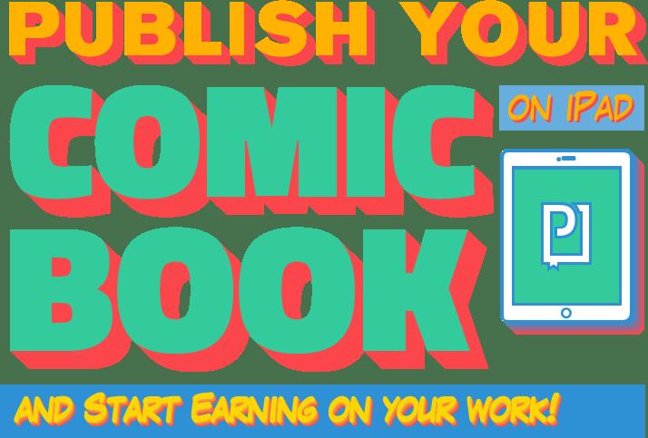 publish your comic bok on iPad