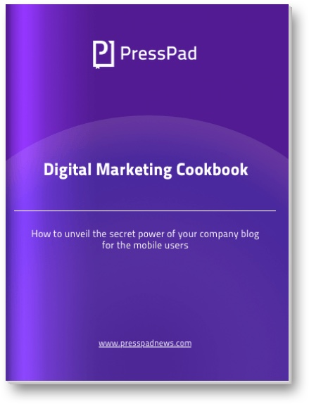 digital marketing cookbook for app marketers