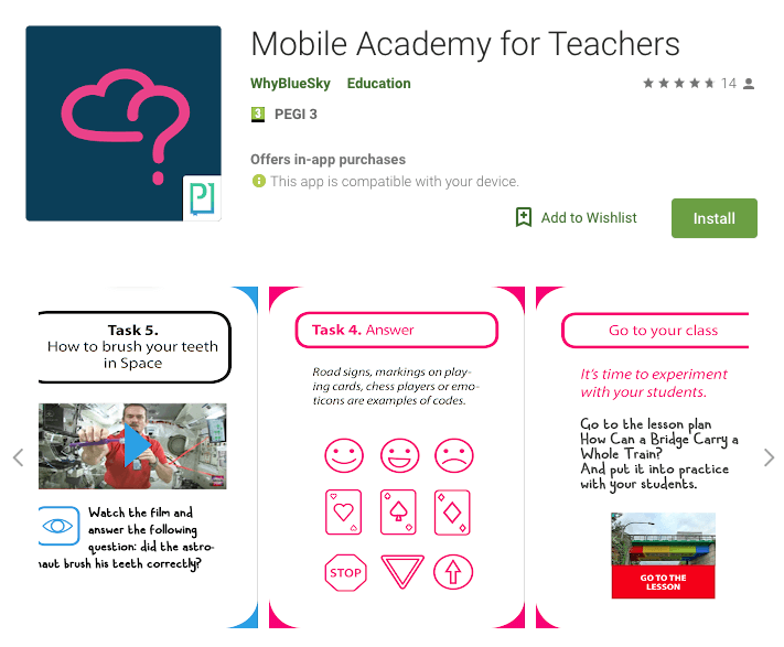 PressPad is a mobile technology backbone of teachers app project