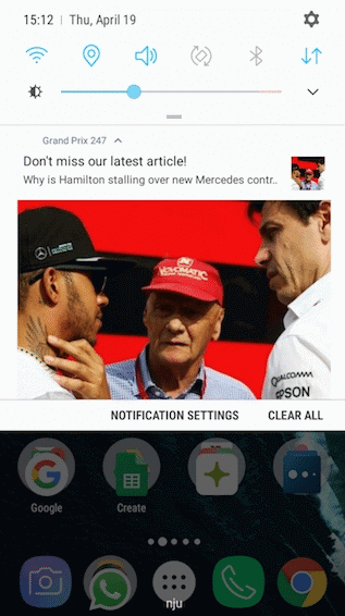 Grand Prix 247 News App by PressPad