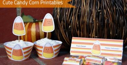 Cute Candy Corn Fall Printables