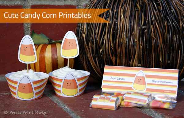 Cute Candy Corn Fall Printables