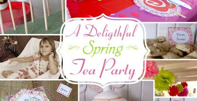 A Delightful Spring Tea Party