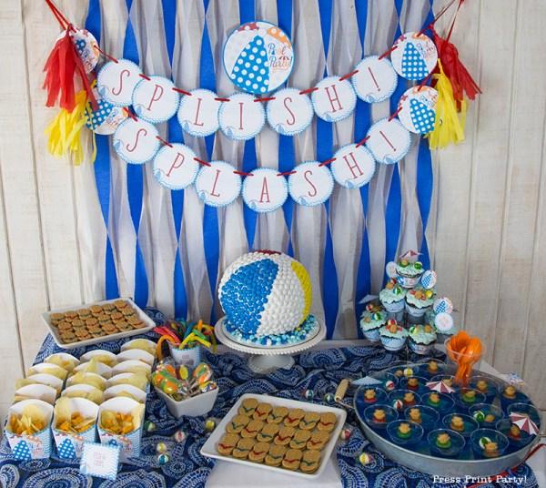 Beach Ball Pool Party Birthday Bash!