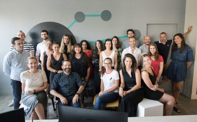 team Cojecom : Chloé Ségarra, Jérôme Soleymieux, Ciro Jaen Paniza, Doryne Mercier, Pauline Soyer, Jérémy Bousseau, etc