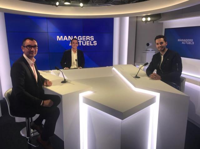Frank Petitdemange, Jean Bergue et Jérôme Celestin à BFM Lyon : Managers Actuels
