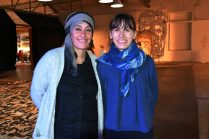 Claire Godiard et Linda Bendif à Upcycling festival