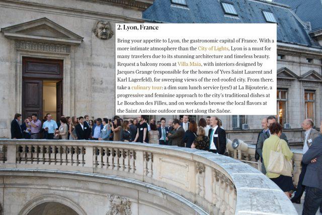 Lyon, 2e meilleure grande ville au monde