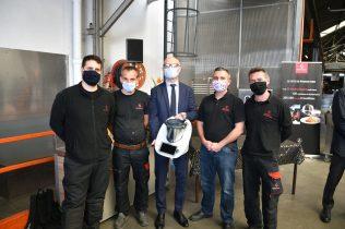 partenariat entre Bourgeat et Vorwerk pour la fabrication du bol mixeur du Thermomix dans les ateliers de Bourgeat