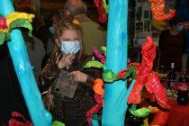 Virginie Plantin à l'expo Espoir de Vie à à la Galerie d'Art Emma