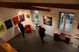 «Espoir de Vie» -Vernissage de exposition de 7 artistes internationaux à la Galerie d'Art Emma_