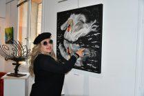 Maria Achmar Arous, en expo à la Galerie d'Art Emma à Malleval