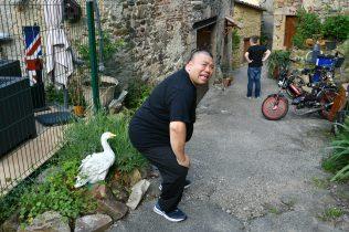 Michel Tong en visite à MALLEVAL