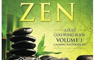 Adult Coloring Book 'Better Than Zen – Calming Kaleidoscopes' Now Available from Amazon 4