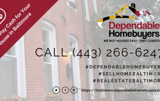 Dependable Homebuyers of Baltimore Now Has a Presence on ActiveRain The Leading Social Network For Realtors 13