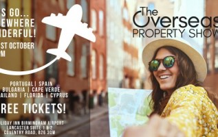 Overseas Property Show – The source for real estate hotspots globally returns to Birmingham 20-21, October, 2018 6