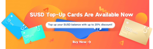 VSLuck Introduced Its New SUSD Top-Up Cards, Taking Crypto Market to the Next Level 1
