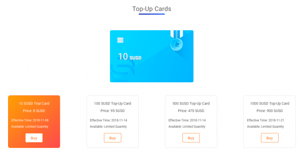 VSLuck Introduced Its New SUSD Top-Up Cards, Taking Crypto Market to the Next Level 3