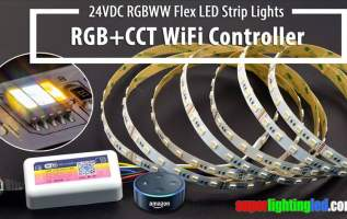 Superlightingled Optoelectronics (ASIA) Co., Ltd Announces To Supply RGB+CCT Wifi Alexa Controller with Music Activation Feature 14