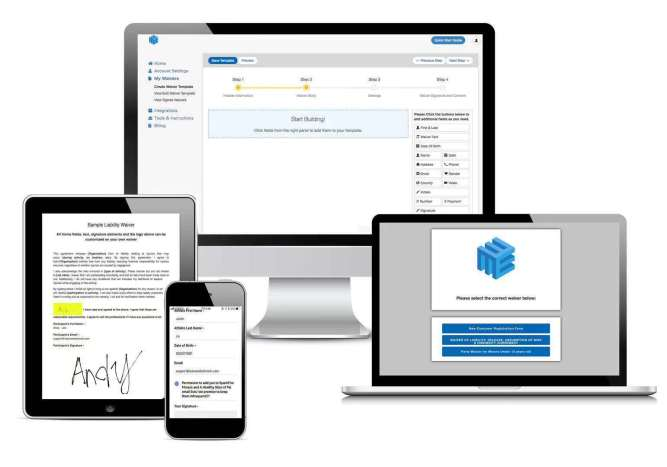 Electronic Works LLC's Online Waiver System Announces Simple Pricing Plans For Unlimited Signing & Storage Of Digital Waivers 16