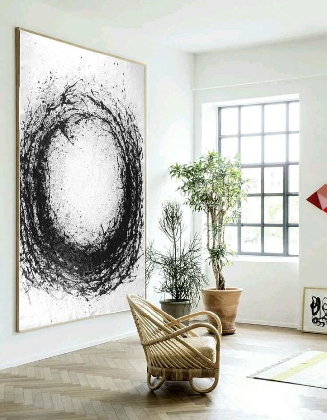 WhereBuyArt Co.,Ltd Announces Extra Large Abstract Painting that Can Make a Bold Statement in Any Room of the House 1