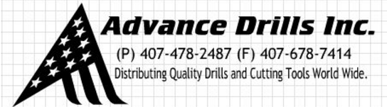Advance Drills Inc. in Winter Park, FL is the Worldwide Distributor of Custom Drill Bits and Cutting-Edge Tools 1