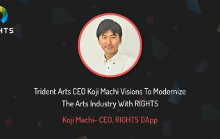 Trident Arts CEO Koji Machi Visions To Modernize The Arts Industry With RIGHTS 8
