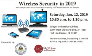Wireless Security in 2019: What Every Business Should Know About Protecting Their Wireless Network and Hotspots 2