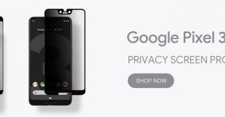 GPEL launches Google Pixel 3 and Pixel 3 XL REAL Tempered Glass Screen protector with Privacy Anti-Spy 4