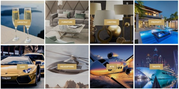 Luxury online marketplace for Super-Rich dubbed the 'Amazon for millionaires' launches, with private jets, super yachts, supercars and even private islands for sale 3