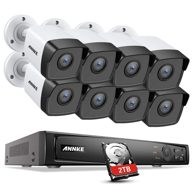 Annke 5MP PoE Security Camera System: Inimitable Performance, Affordable Price 1
